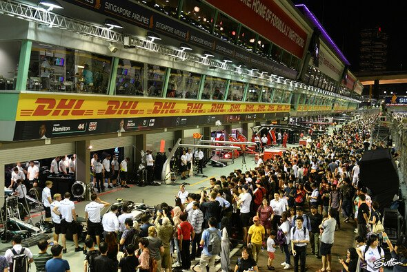 Heute im Live-Ticker: Die Formel 1 macht in Singapur Station, das Rennwochenende startet mit dem Medientag - Foto: Sutton
