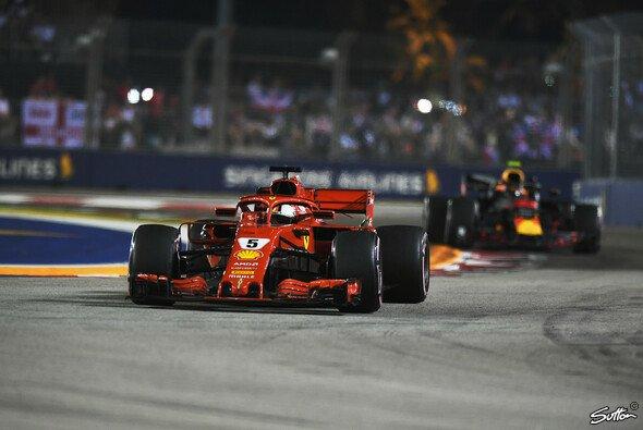 Redet Ferrari in Singapur dank Update doch ein Wörtchen mit - Foto: Sutton