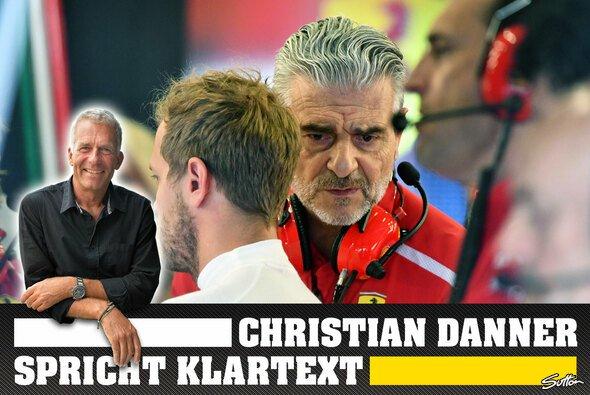Christian Danner sieht Ferraris Teamführung kritisch - Foto: Sutton/LAT/Motorsport-Magazin.com
