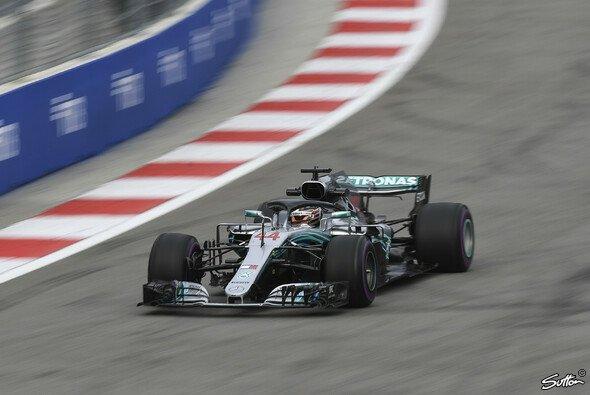 Mercedes startete in Russland mit einem starken Freitag ins Wochenende - Foto: Sutton