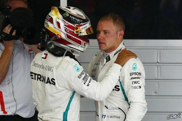 Valtteri Bottas ging 2018 gegen Mercedes-Teamkollege Lewis Hamilton unter - Foto: Sutton