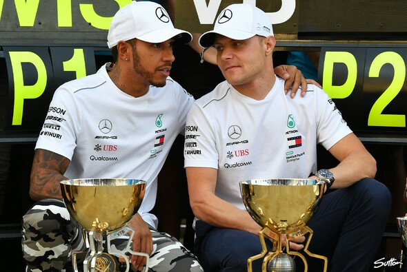 Mercedes' Teamorder in Russland sorgte in der Formel 1 für jede Menge Redebedarf - Foto: Sutton