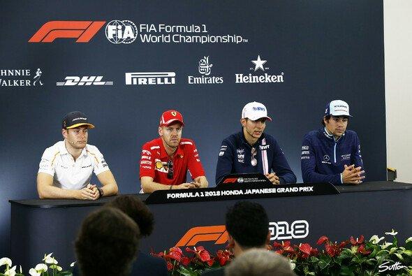 Am Freitag startete das Formel-1-Wochenende in Japan mit der Pressekonferenz - Foto: Sutton