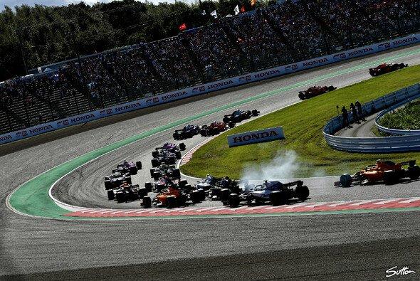 Die Formel 1 gastiert am Wochenende auf der Fahrerstrecke von Suzuka - Foto: Sutton