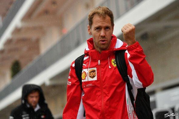 Sebastian Vettel droht in Austin eine emfindliche Strafe - Foto: Sutton