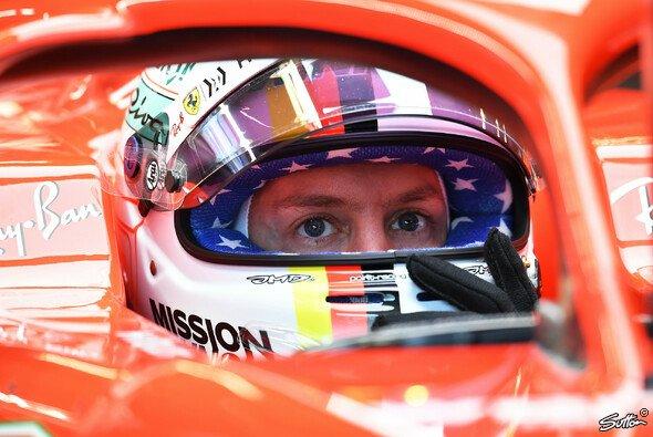 Lebenszeichen von Sebastian Vettel: Bestzeit im 3. Freien Training zum USA GP - Foto: Sutton