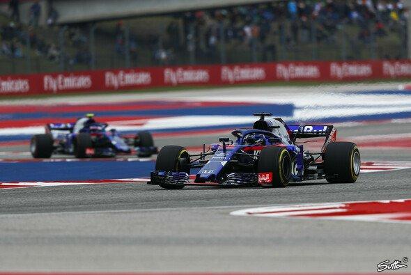 Toro Rosso und Honda stehen beim USA-GP in Austin geschlossen in der letzten Reihe - Foto: Sutton