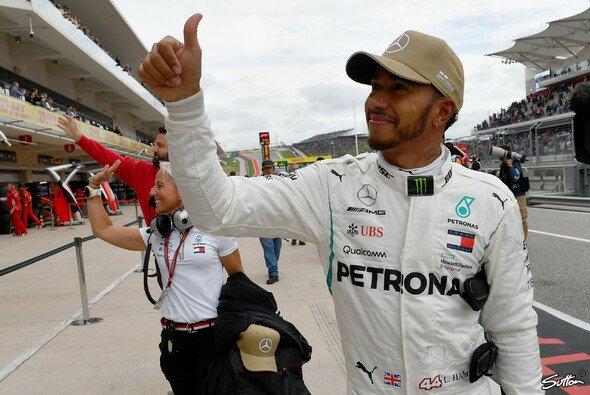 Lewis Hamilton hat trotz der starken Ferrari-Pace auf dem Supersoft-Reifen für das Rennen keine Bedenken - Foto: Sutton