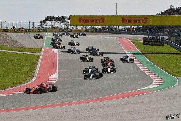 Der USA GP in Austin ist die nächste Station im Formel-1-Kalender - Foto: Sutton
