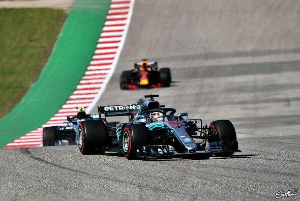 Lewis Hamilton und Mercedes kämpften in den USA mit der Balance des Autos - Foto: Sutton