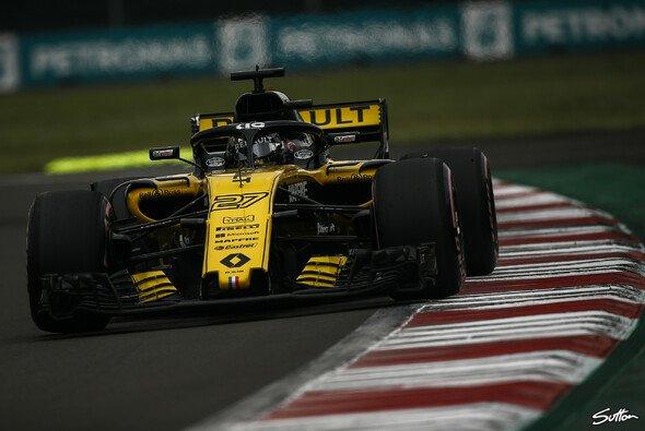Nico Hülkenberg führt im Mexiko-Qualifying das Mittelfeld der Formel 1 an - Foto: Sutton