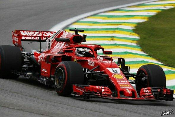 Sebastian Vettel hat in Brasilien gute Karten, um seinen Sieg aus dem Vorjahr zu wiederholen - Foto: Sutton