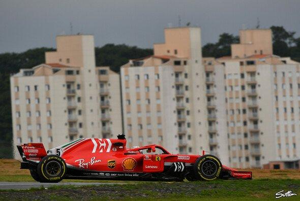 Sebastian Vettel sicherte sich die Bestzeit im 3. Freien Training zum Brasilien GP 2018 - Foto: Sutton