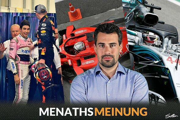 Hamilton, Vettel, Verstapen - die Stewards fällten in Brasilien milde Urteile - Foto: Sutton/LAT/Motorsport-Magazin.com