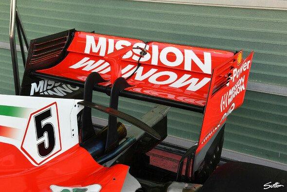Die Philip-Morris-Kampagne Mission Winnow ist prominent auf dem Ferrari platziert - Foto: Sutton