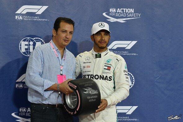Pole für Lewis Hamilton beim letzten Formel-1-Qualifying der Saison 2018 - Foto: Sutton