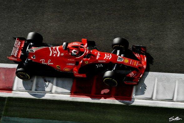 Charles Leclerc beendete die Formel-1-Saison 2018 mit einer Test-Bestzeit - Foto: Sutton
