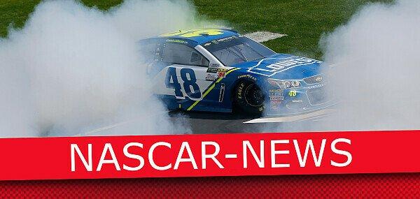 Donuts gehören zur NASCAR wie Lucky Dogs und die Victory Lane, Foto: Motorsport-Magazin.com