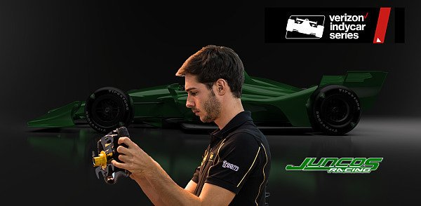 Endlich wieder ein Österreicher bei den IndyCars: Rene Binder, Foto: INDYCAR