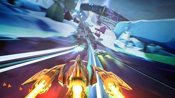 Gegen die Schwerkraft mit der Lightspeed Edition von Redout, Foto: 505 Games
