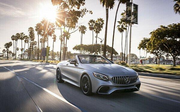 Das neue S-Klasse Cabriolet hat serienmäßig ein Luftfederungssystem, Foto: Daimler