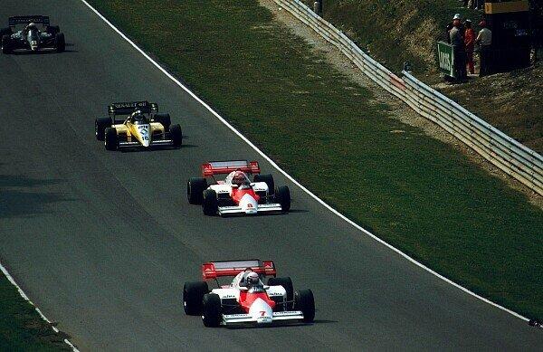 Niki Lauda lieferte auf dem Weg zu seinem letzten WM-Titel eine starke Aufholjagd gegen Alain Prost, Foto: Sutton