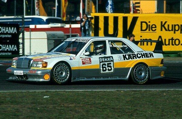 Michael Schumacher startete 1990 beim Saisonfinale der DTM in Hockenheim, Foto: Sutton