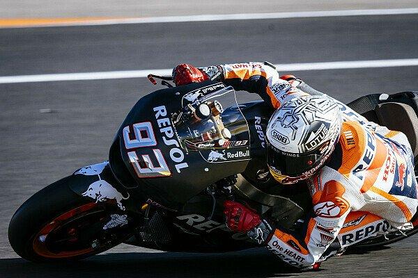 Weltmeister Marc Marquez testet am Dienstag und Mittwoch in Valencia, Foto: Milagro