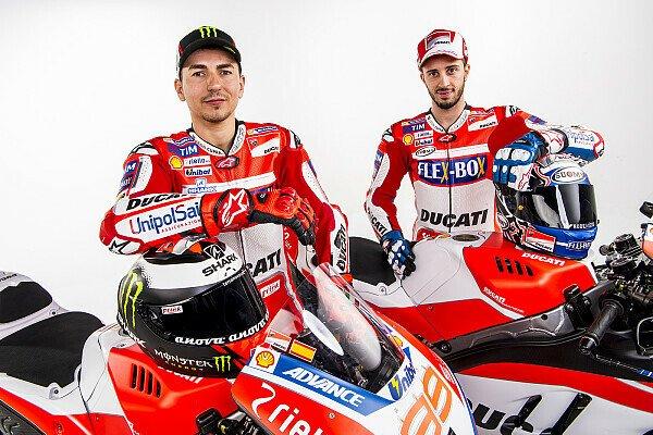 Finanziell steht Dovizioso immer noch im Schatten Lorenzos, Foto: Ducati