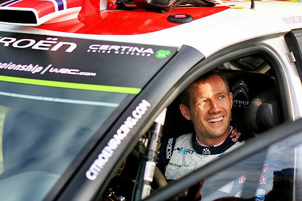 Bei der Rallye Deutschland setzte sich Ogier ins Citroen-Cockpit von Mikkelsen, Foto: Sutton