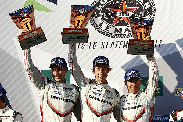 Brendon Hartley hat das WEC-Rennen in Austin gewonnen, Foto: Porsche
