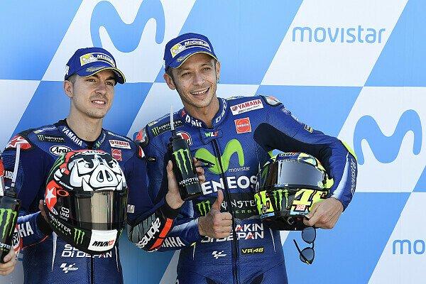 Valentino Rossi würde Teamkollege Maverick Vinales helfen, wenn Yamaha es von ihm verlangt, Foto: Yamaha