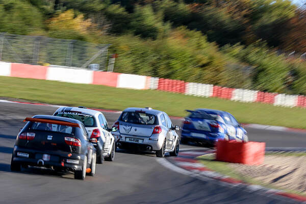 Finale auf dem Nürburgring, Foto: Cup- und Tourenwagen Trophy