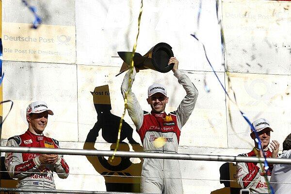 Rene Rast ist der DTM Champion 2017, Foto: LAT Images