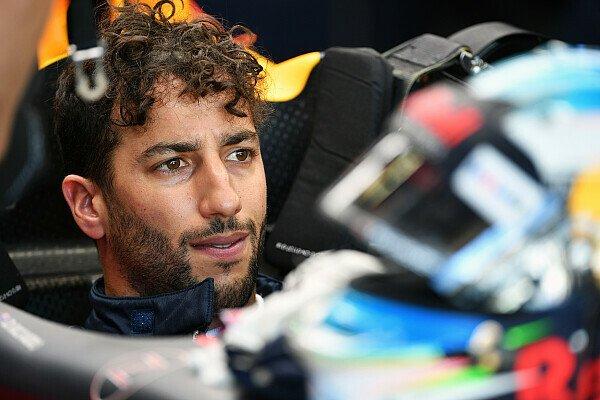 Geht es um die Zukunft wird aus Strahlemann Ricciardo plötzlich ein sehr nachdenklicher Kerl, Foto: Sutton