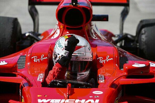 Sebastian Vettel holte sich mit seinem Sieg in Brasilien gleich zwei persönliche Bestmarken von Ayrton Senna, Foto: Sutton