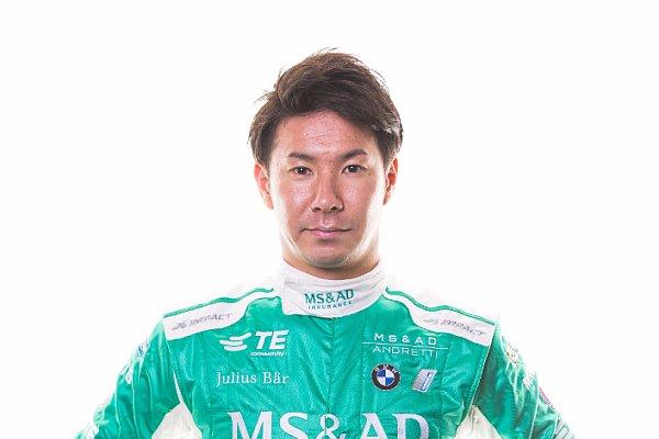Kamui Kobayashi debütiert beim Saisonstart in Hongkong in der Formel E, Foto: Sutton