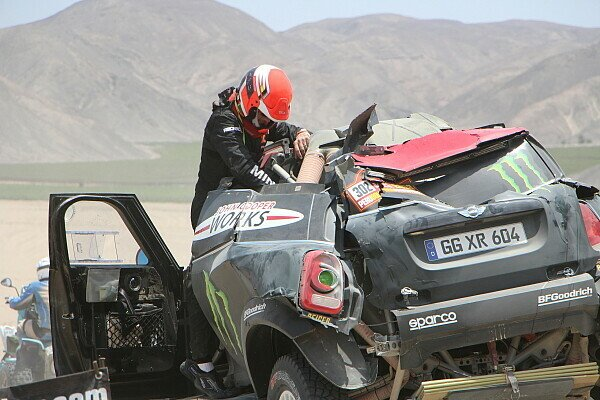 Die Dakar ist für viele prominente Teilnehmer schon zu Ende, Foto: Dakar