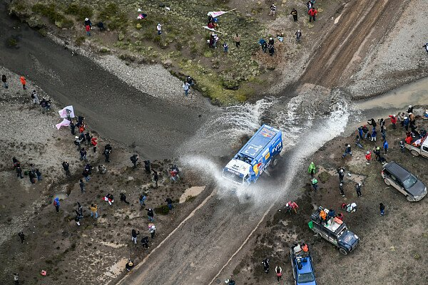 Regen setzt der Rallye Dakar seit Tagen in Bolivien zu, Foto: Dakar
