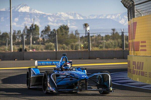 Sebastien Buemi sicherte sich in Marrakesch die Pole Position, Foto: LAT Images