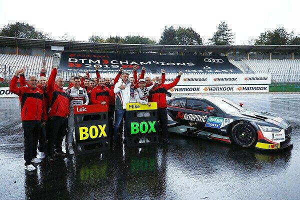 DTM: Phoenix-Audi gewinnt zum 4. Mal Hankook Boxenstopp-Award