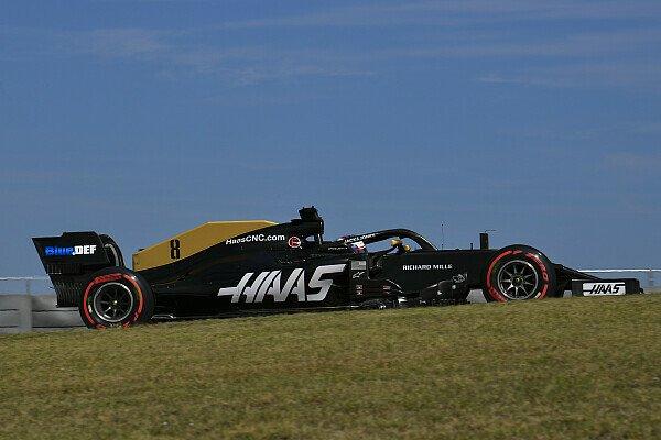 Formel 1 USA, Grosjean klagt über Haas: Abtrieb plötzlich weg