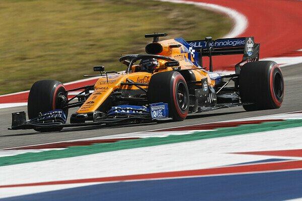 Formel 1: McLaren im Qualifying dank Wind top, Angst vor Rennen