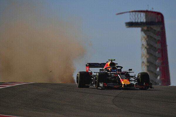 Formel 1: Reifenschaden zwang Albon zu drei Stopps