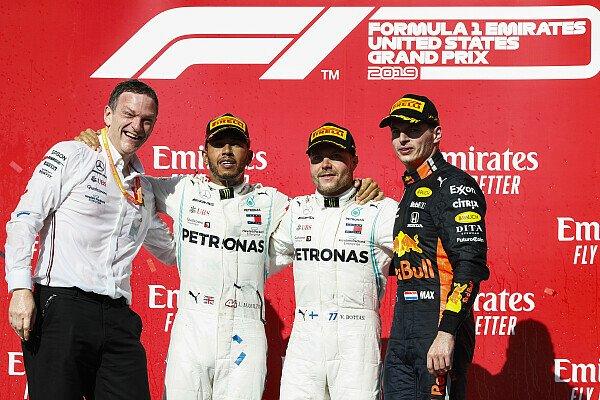 Formel 1 2019: USA GP - Podium