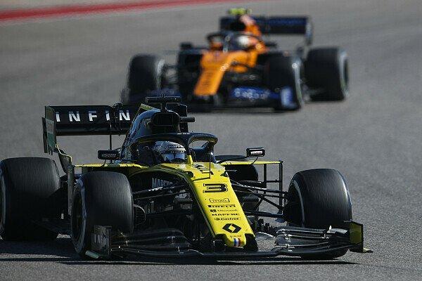 Formel 1, Best of the Rest: Renault schlägt McLaren