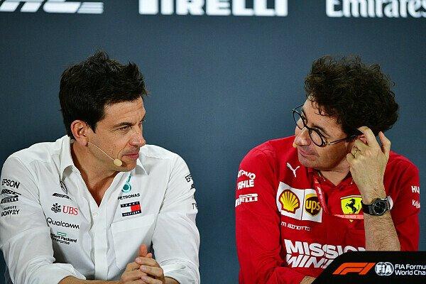 Formel 1, Wolff attackiert Ferrari: Concorde-Vorstoß lächerlich