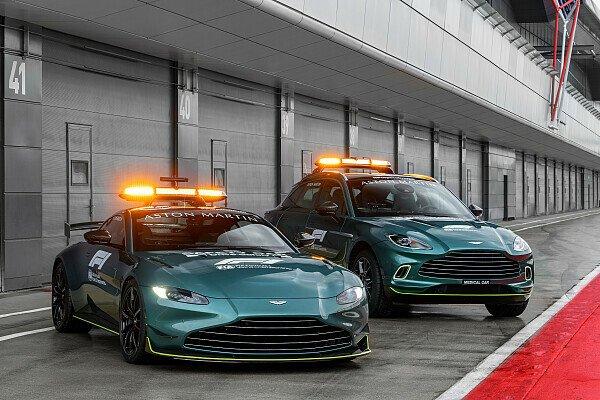 Aston Martin Mercedes Formel 1 Zeigt Neue Safety Cars 2021