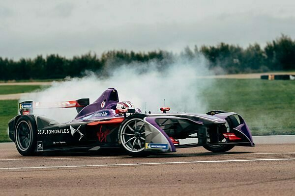 Formel E: Virgin Racings neues DSV-03 Auto
