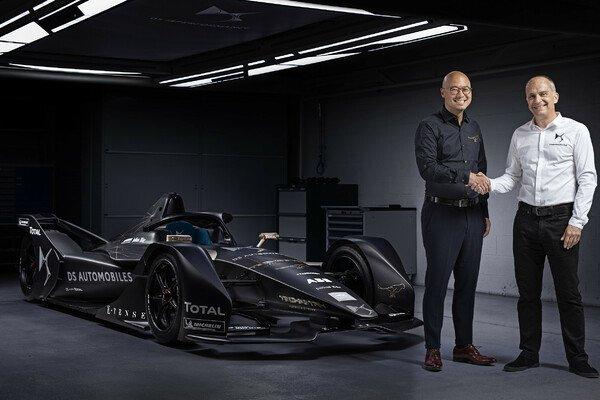 Formel E: DS wird neuer Partner von Sensations-Team Techeetah